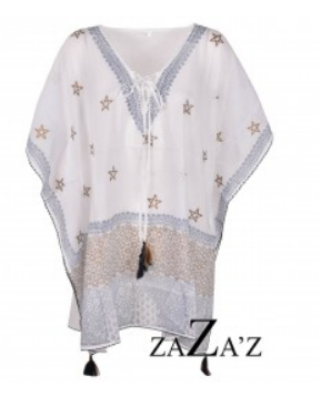 Tuniek Golden Stars - White