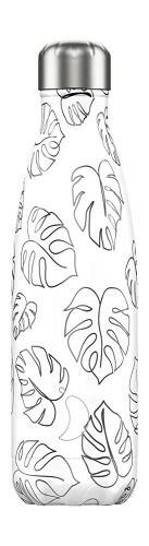 Chilly's Bottle 500 ml Line Art Leaves