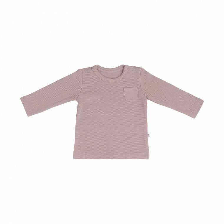 Baby's only shirtje oudroze rib