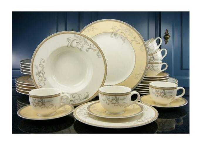Luxe servies 6 pers