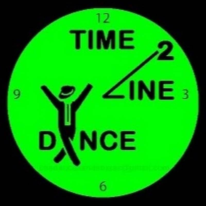 Dames Heren Club T shirt Time2linedance