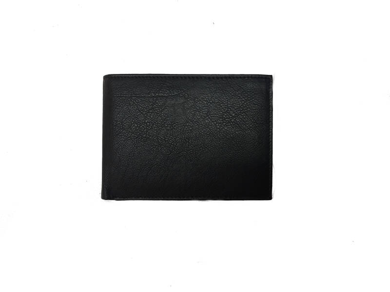 leather wallet 1005 s - soft black