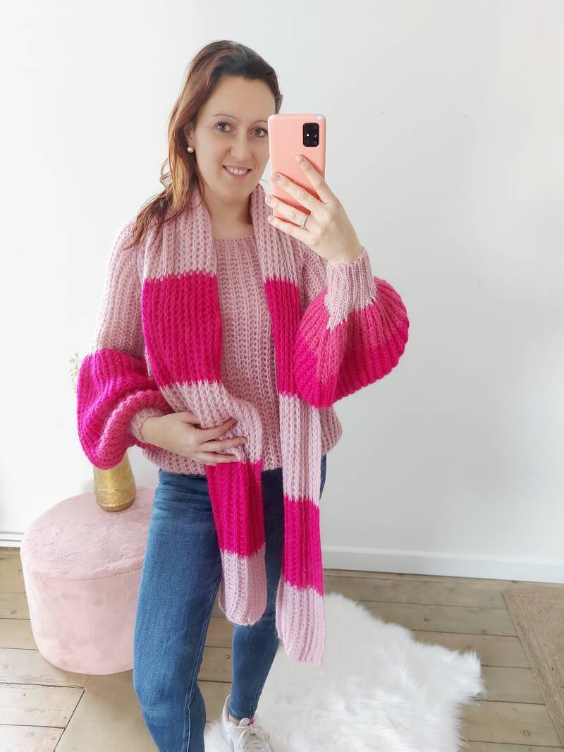 Pull ´dolce pink´