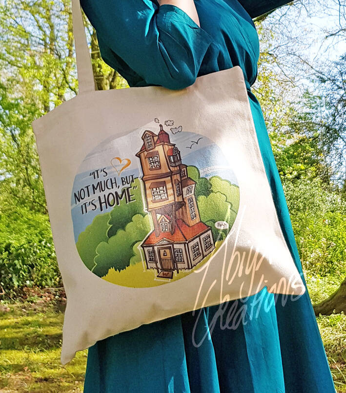 The Burrow - Canvas totebag