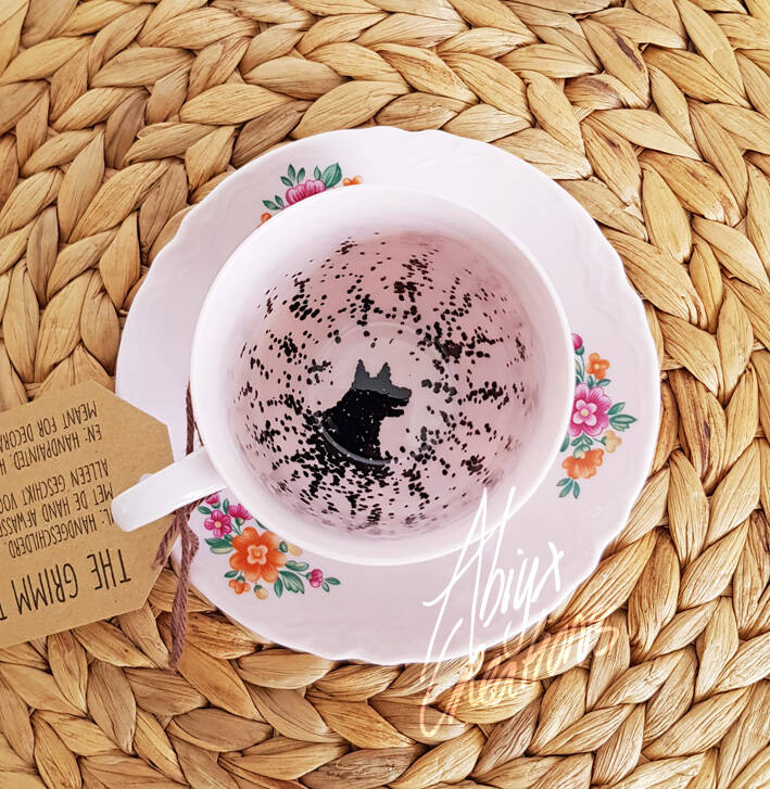 My dear.. You have the Grimm! - Teacup & Saucer