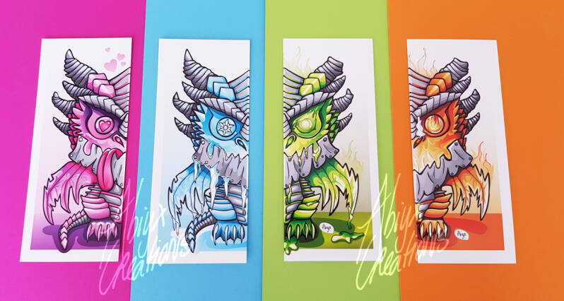 Deathwing set of 4 bookmarks