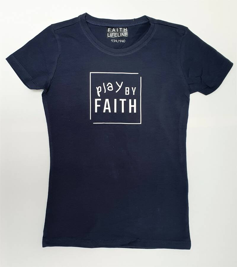 Play By Faith // 134/140 // T shirt