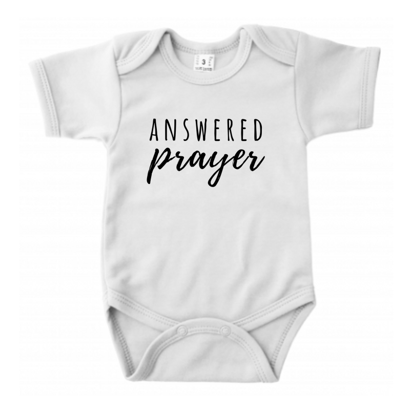 Answered Prayer // Ecru Romper // 62/68