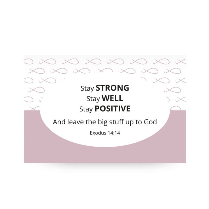 Shareable Pink // Stay Strong