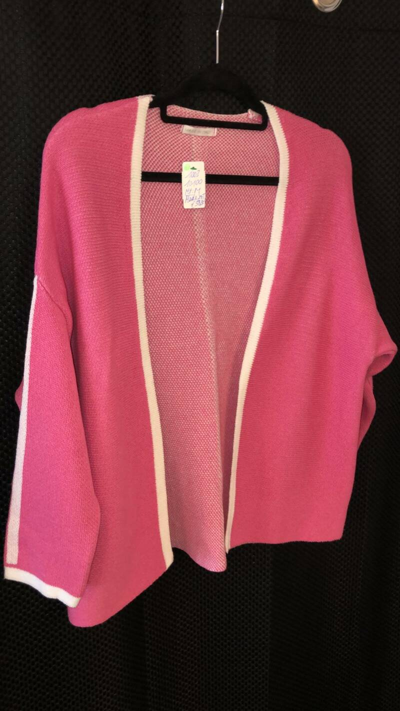ROZE CARDIGAN  MADE IN ITALY SIZE M