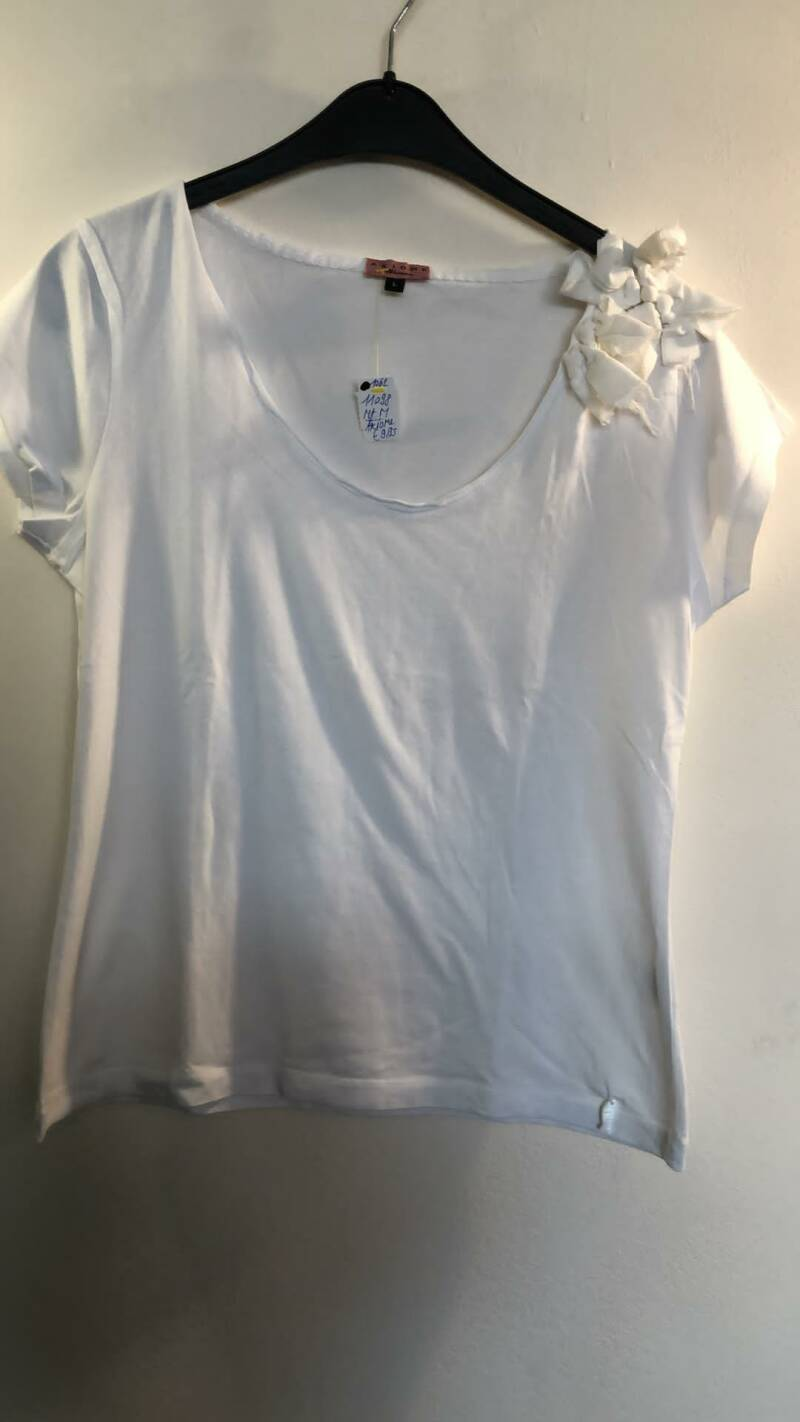 WITTE TSHIRT AXIOME SIZE L