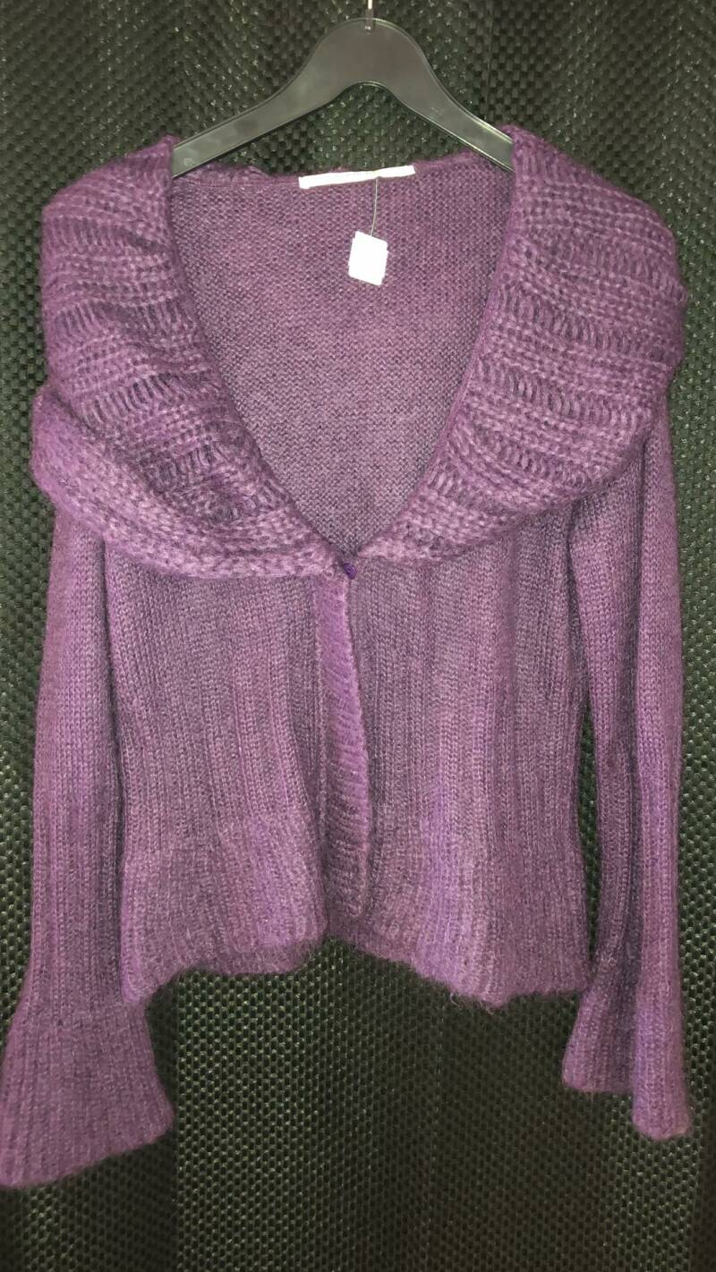 PAARSE WOLLEN CARDIGAN AVALANCHE SIZE M