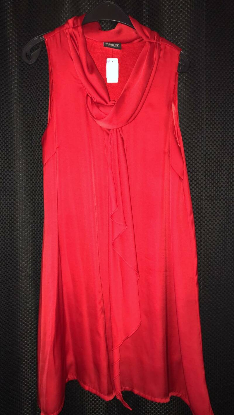 ROOD KLEED SOAKED SIZE L