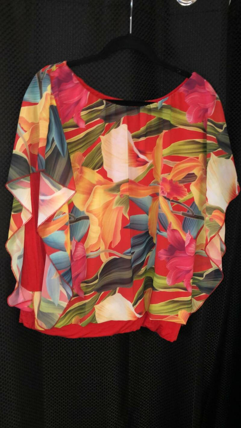 RODE BLOUSE  MADE IN ITALY SIZE L