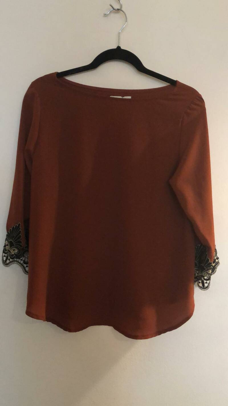BLOUSE ROEST  DIOXIDE SIZE M