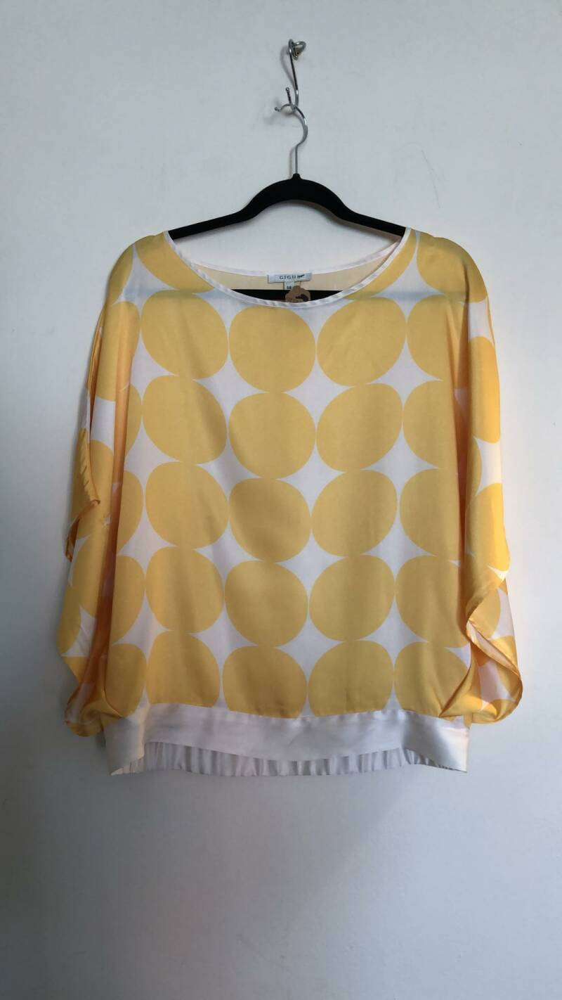 BLOUSE GEEL GIGUE SIZE 38