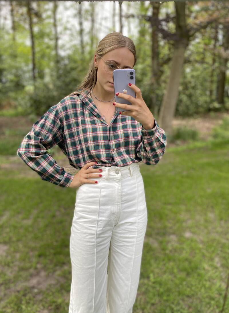 Vintage cotton blouse