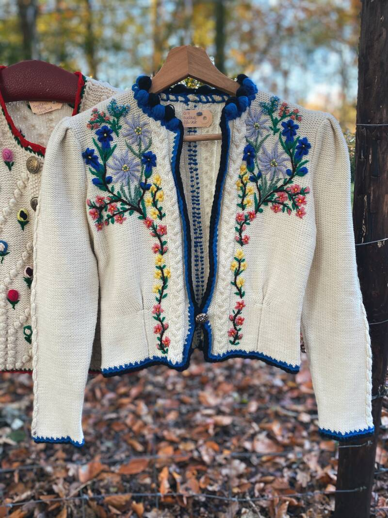 Austrian folk jacket