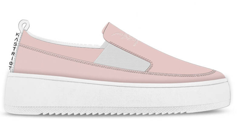 Sneakers - pink -concept photo-