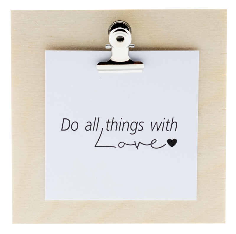 Mini clip 08 -  Do all things with love