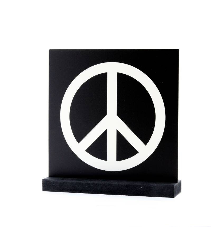 Together - Deco plaatje - 16 - Peace teken