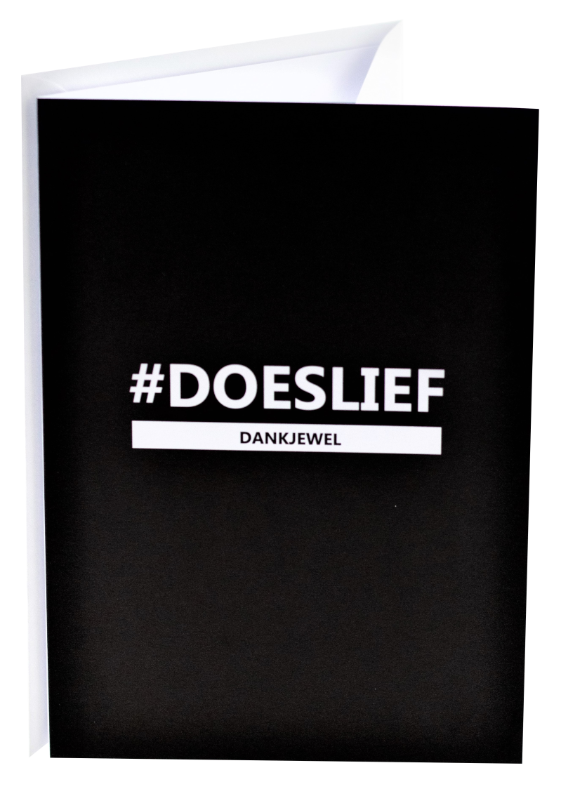 Connect wenskaart 07 - #Doeslief