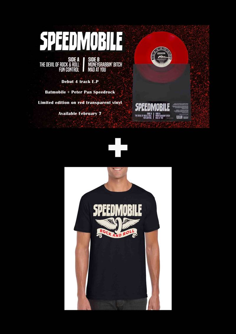 COMBIDEAL!!     EP + SHIRT SPECIAL PRICE