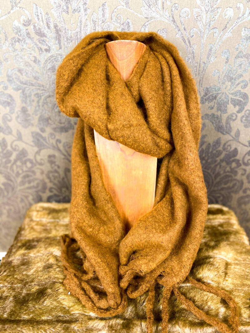 Scarf Cosy Brown