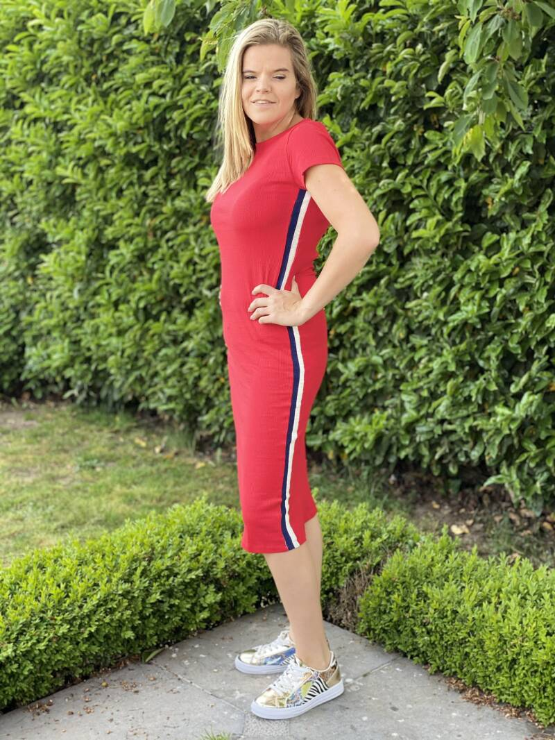 FLASH ❗️Dress Sporty Red