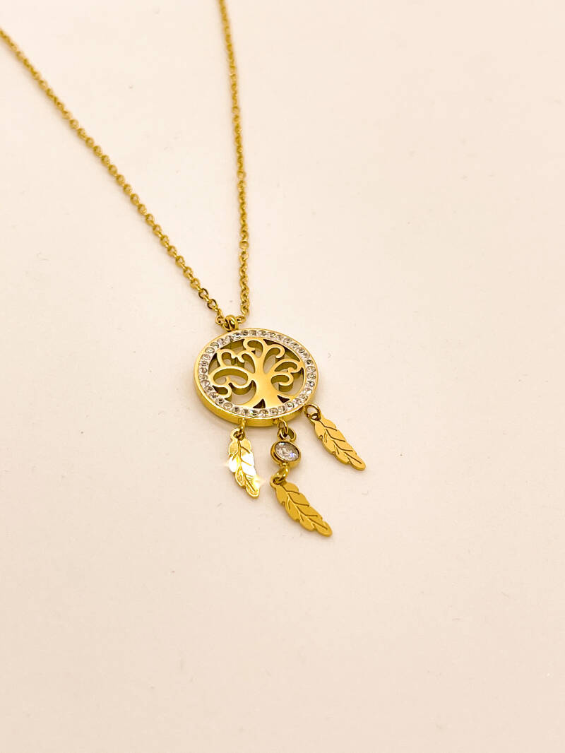 Necklace Tree gold