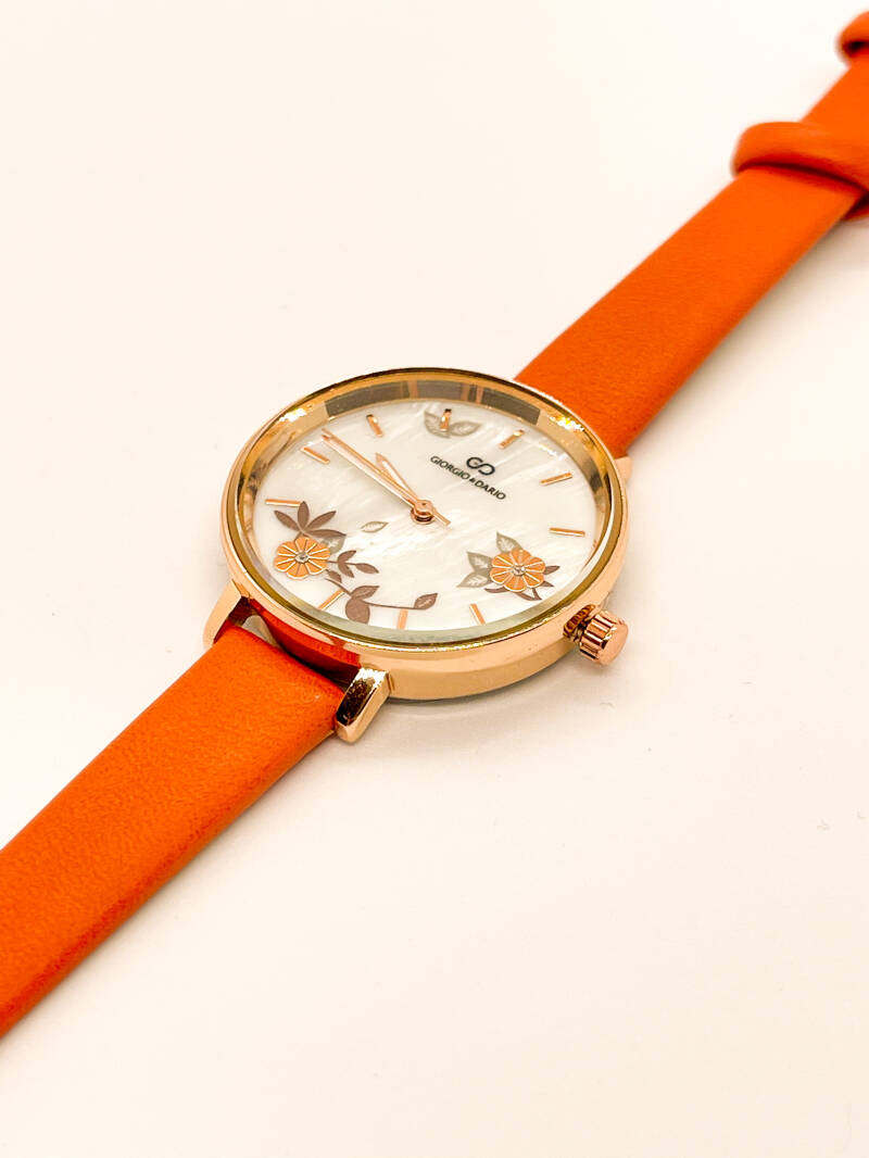 NEW! ⭐️Watch Rose Gold/Orange