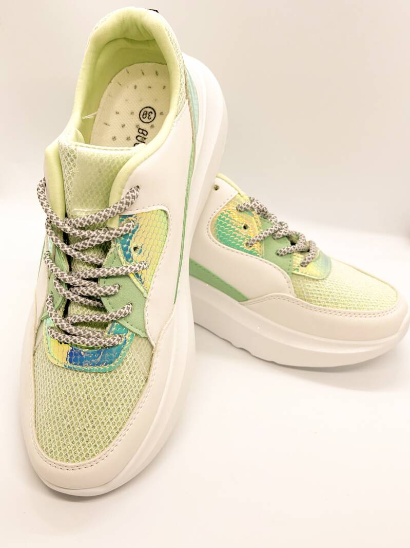 NEW! ⭐️Sneaker Sporty Green