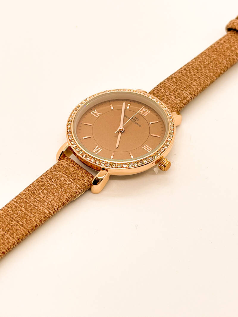 NEW! ⭐️Watch Taupe/Pink