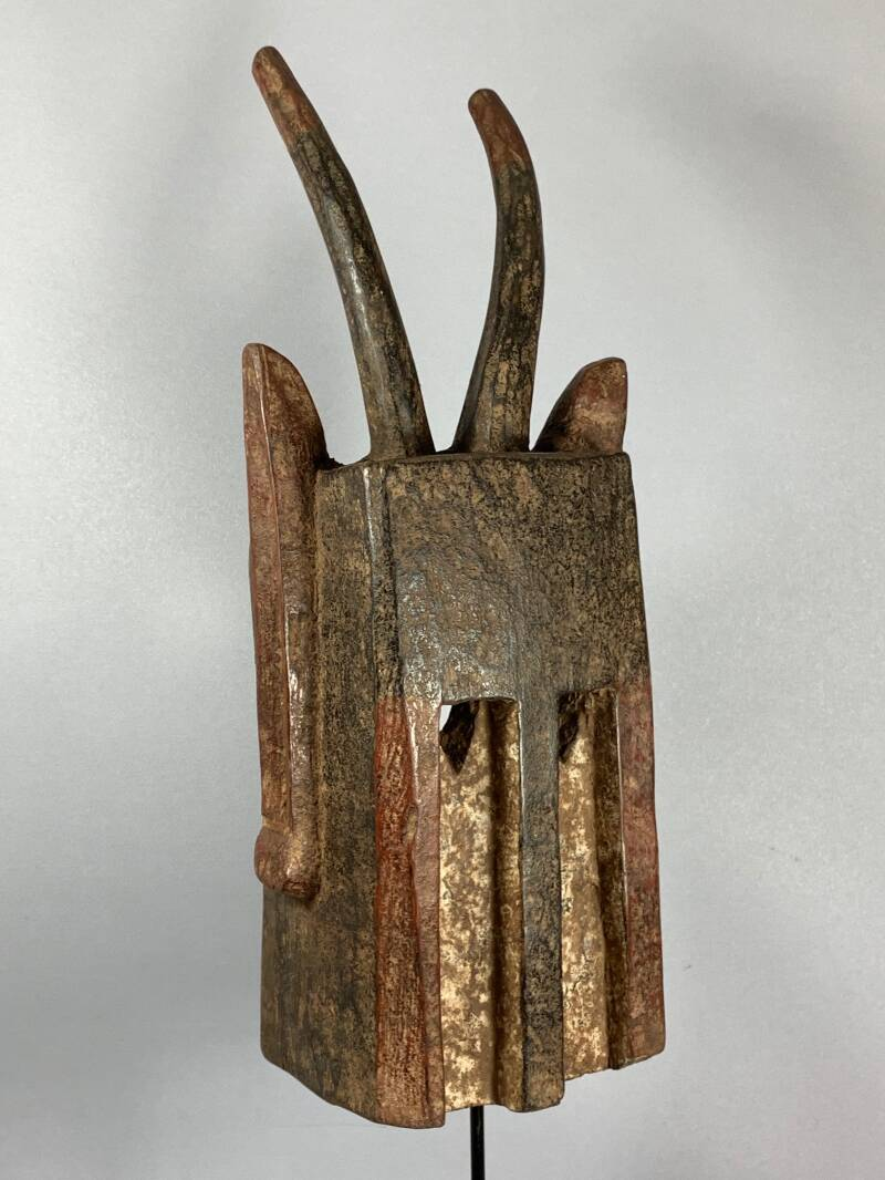 200841 - Old Tribal Used African Dogon Mask - Mali.