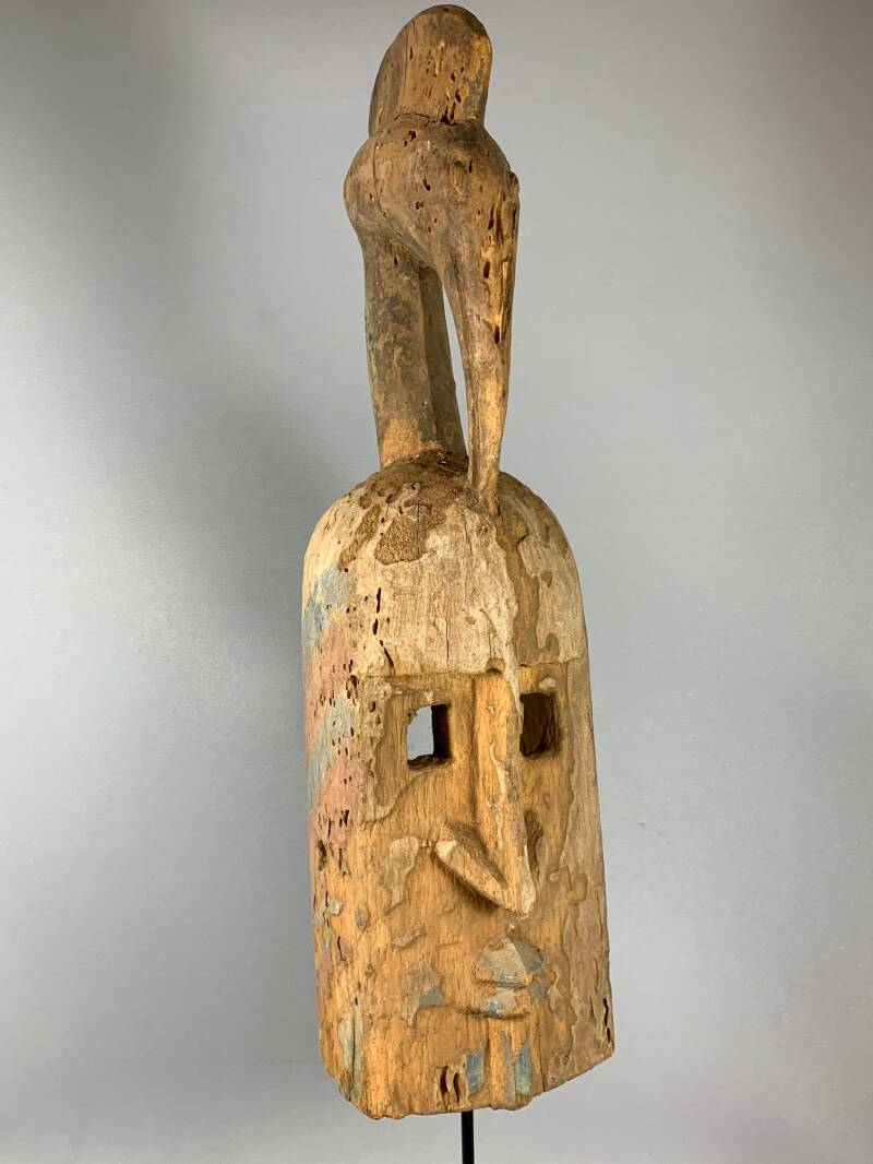 201030 - Old Tribal Used African Dogon Mask - Mali
