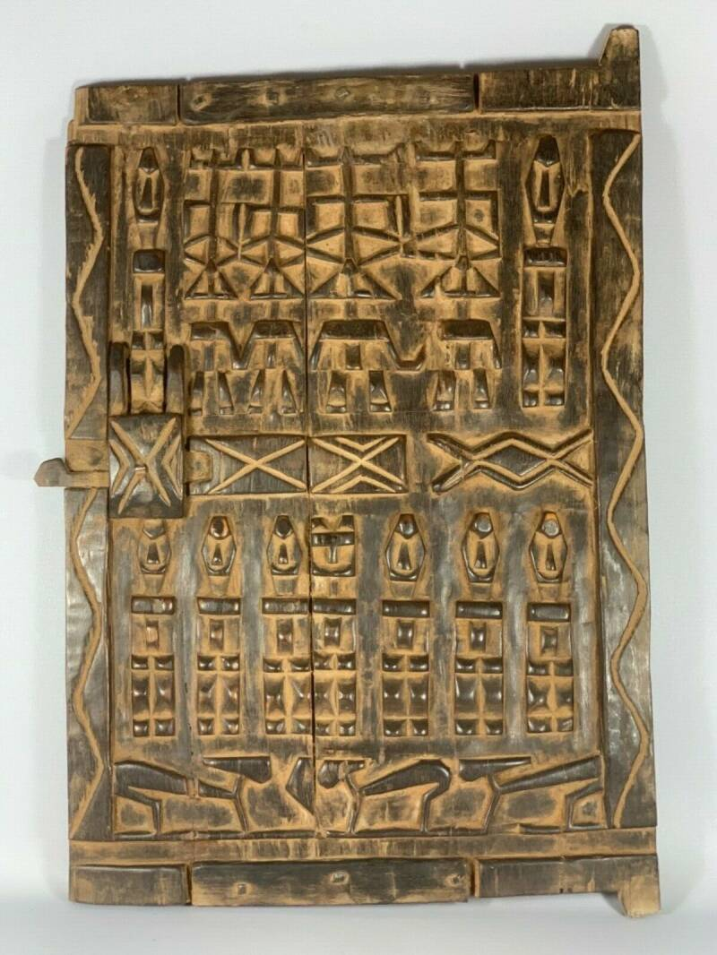 200340 -Large Old & Tribal used African Dogon Door - Mali.