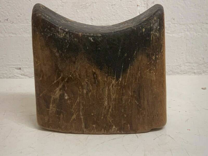 190641 - Tribal used African Ethiopian Gurage Headrest - Ethiopia