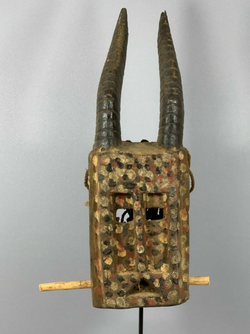 180303 - Tribal Used African Dogon Mask - Mali