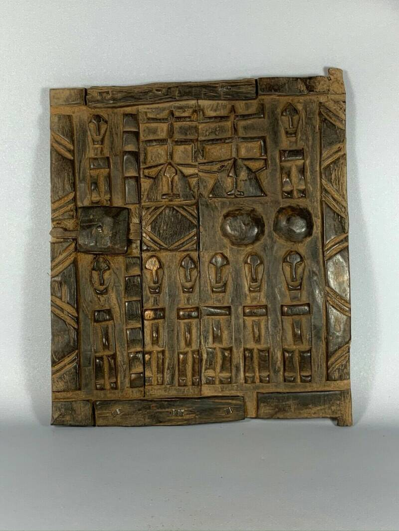 191102 - Old & Tribal used African Dogon Door - Mali.