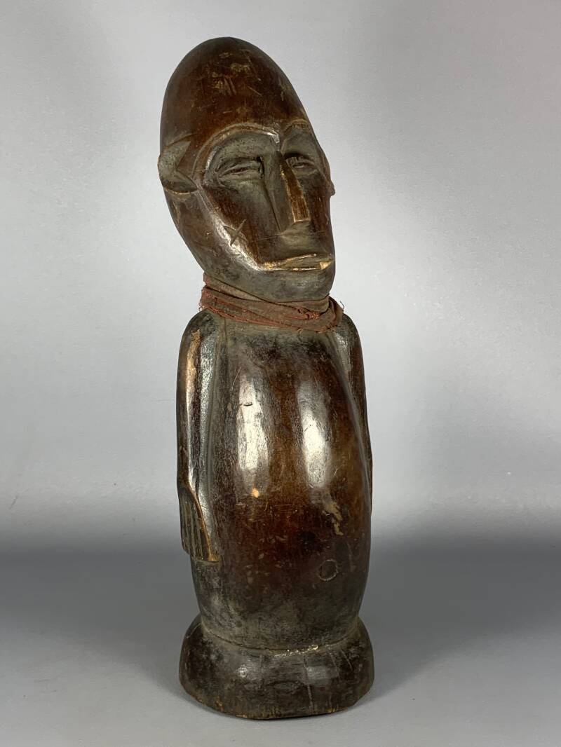 200715 - Old & Tribal used Rare African Bambara Statue - Mali.