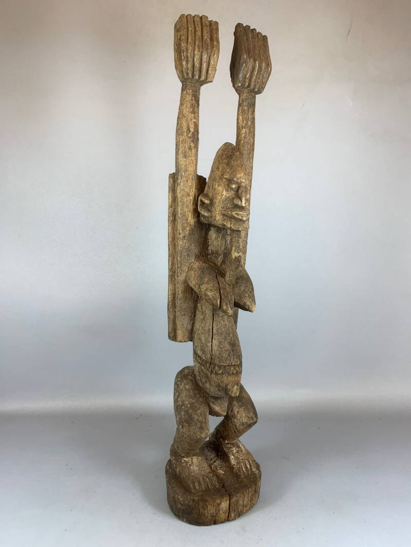 210333 - Old Tribal used African Dogon Figure - Mali.