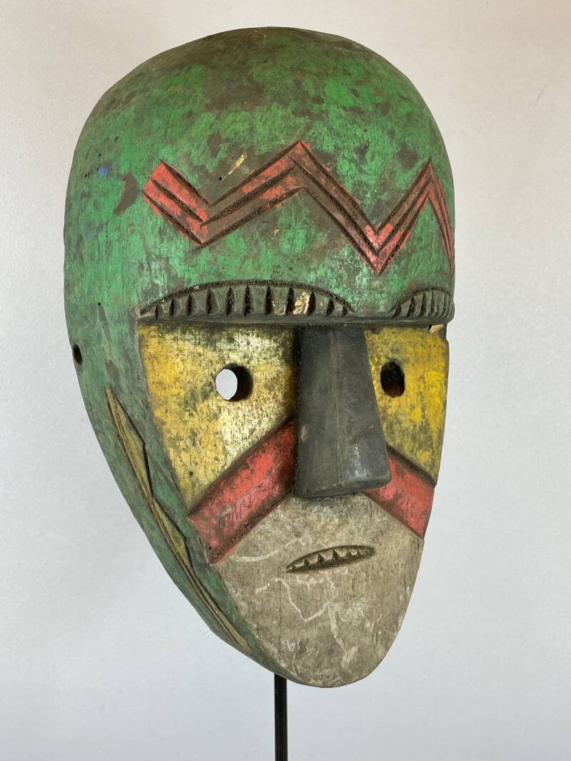 210511 - Tribal used African Bozo Sogo Ba mask - Mali.