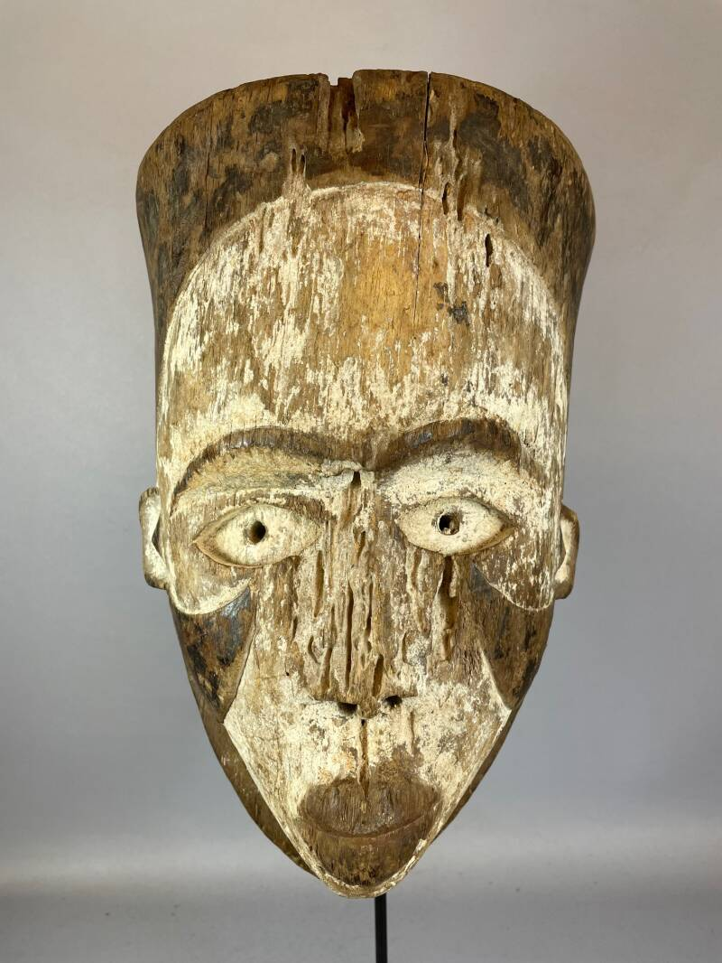 210719 - OLD Rare Tribal used mask from the Ogoni - Nigeria.
