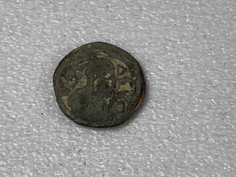 210732 - Kingdom of Aksum or Axum – Brass coin of ANONYMUS (ca. 440-470 A.D.)