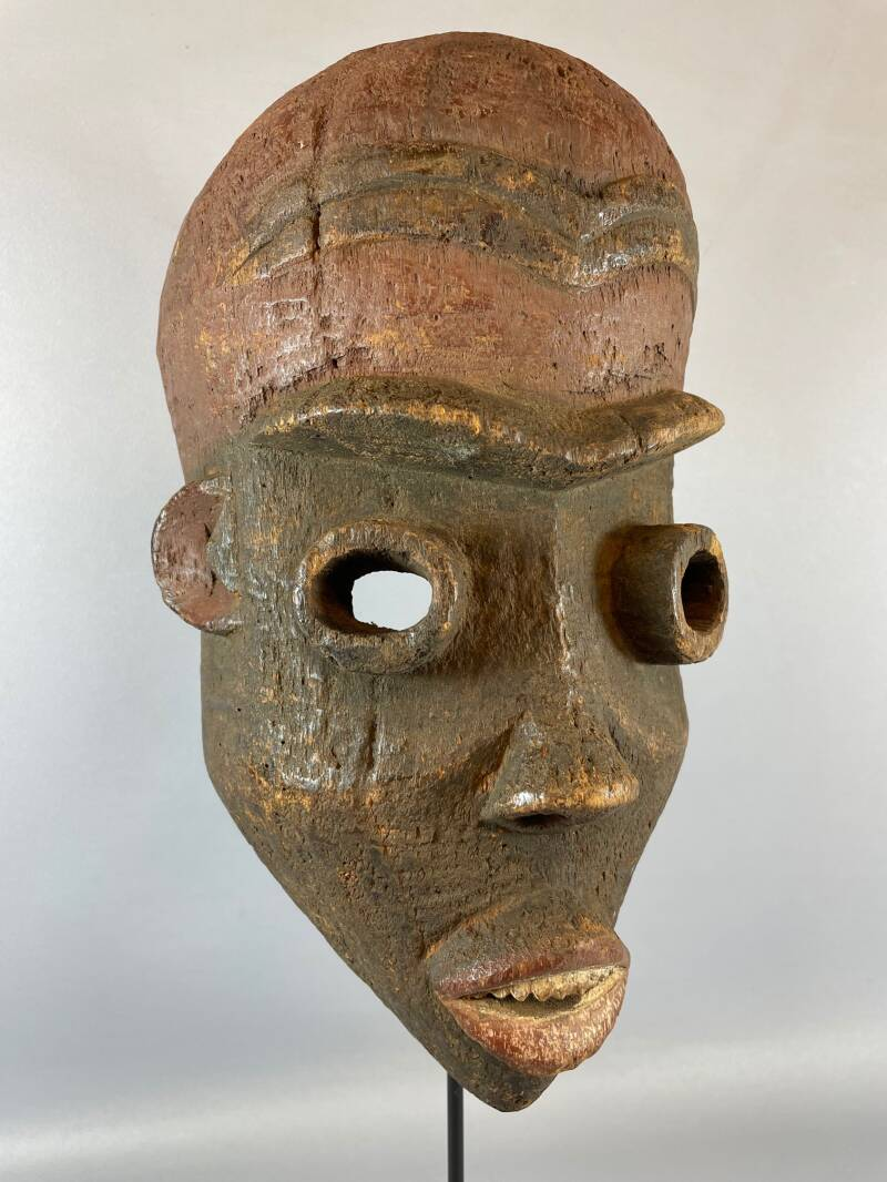210850 - Tribal used African mask from the Pende - Congo.