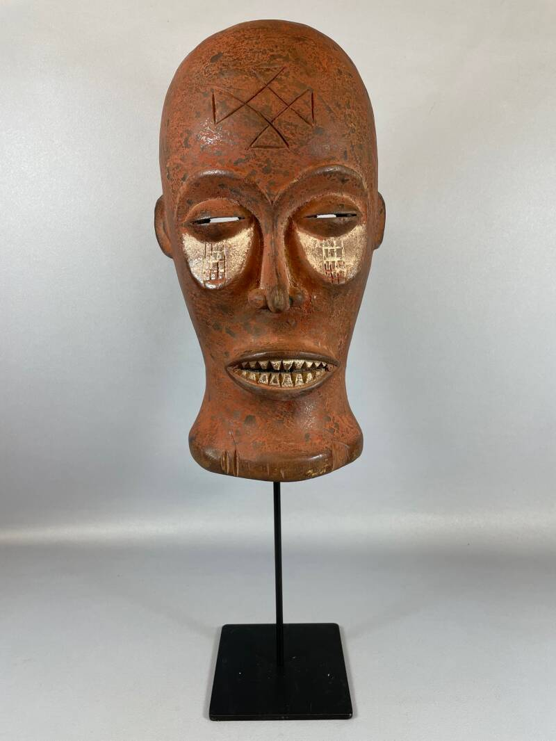 210944 - Antique Tribal Used African mask from the Chokwe - Angola.