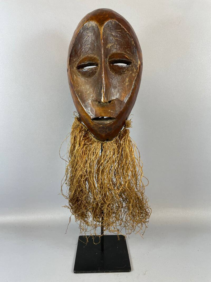 210961- Old Tribal used African mask from the Lega Bwami - Congo.