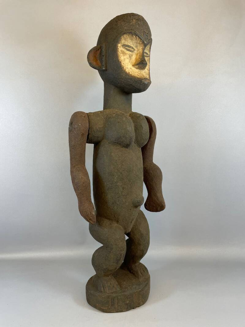 210967 - Tribal used Old African Lega statue - Congo.