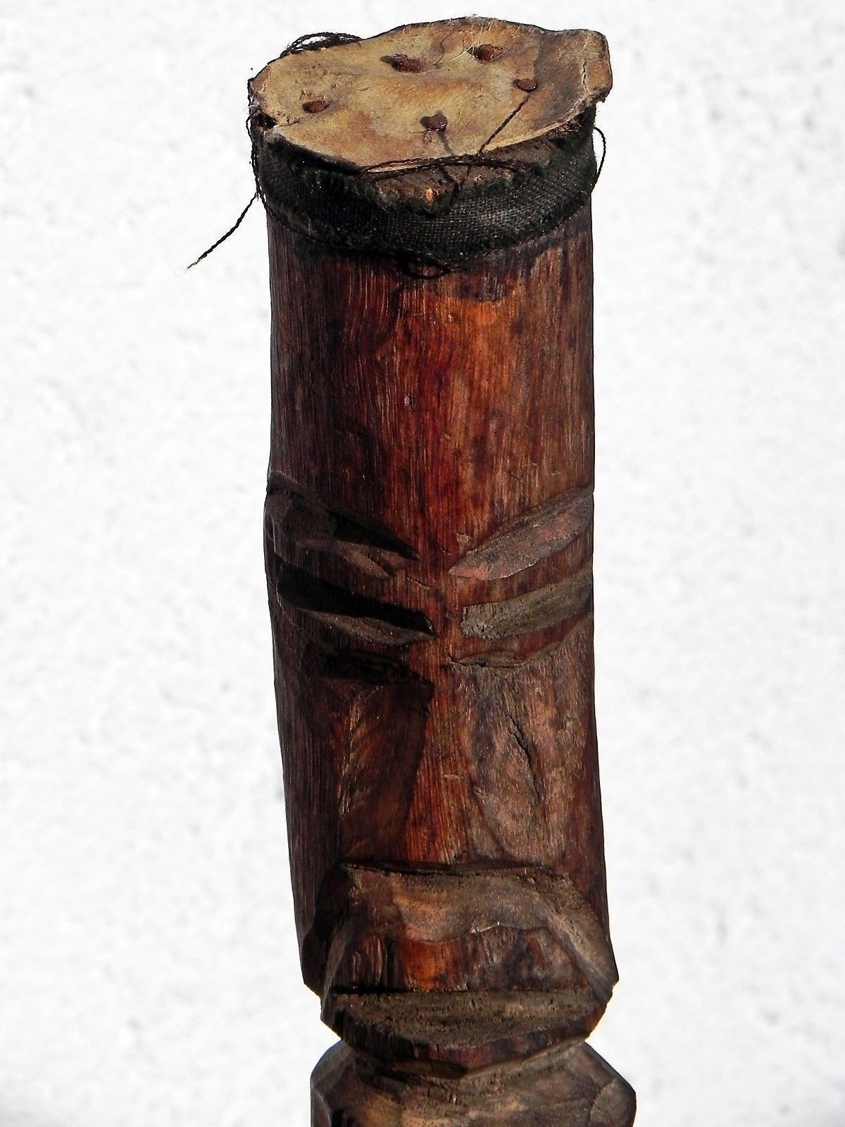 170713 Old And Rare Tribal Used African Konso Grave