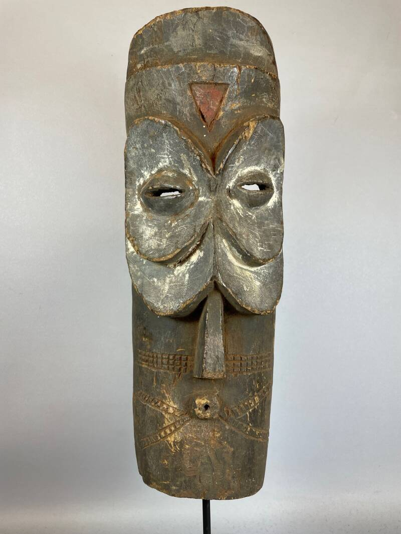 210642 - Old Tribal used African mask from the Bembe - Congo.